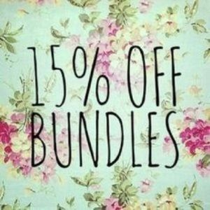 BUNDLE AND SAVE 15%